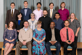 The 2019 graduating class of Anabaptist Mennonite Biblical Seminary, Elkhart, Indiana. (Credit: Steve Echols)