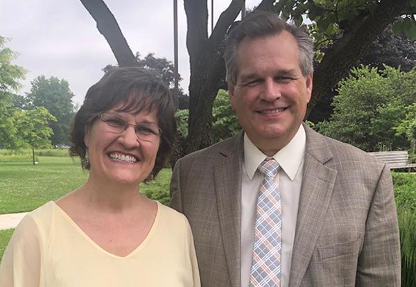 Shana Peachey Boshart and David W. Boshart, Ph.D. (Credit: Melissa Troyer)