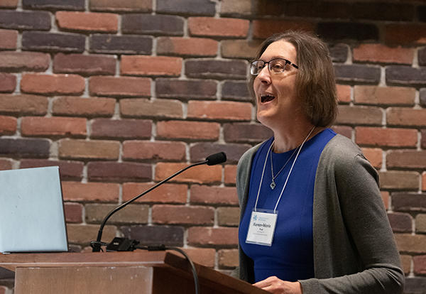 Karen-Marie Yust, M.Div., Th.D., professor of Christian education at Union Presbyterian Seminary in Richmond, Virginia, and the author of Real Kids, Real Faith, presented two plenary sessions during a joint conference of Pastors and Leaders 2020 and Deep