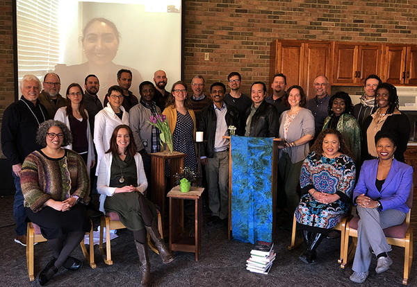 Participants in the March 10 Theology and Peacebuilding Consultation