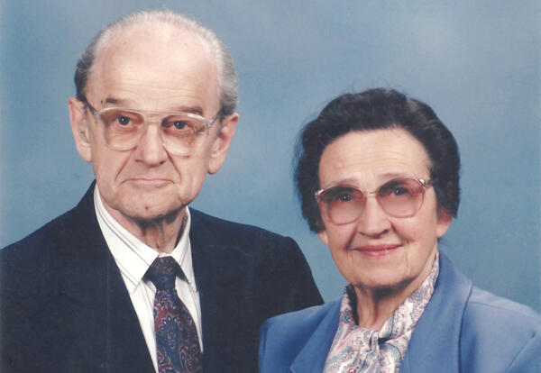 Paul and Bertha Miller (Photo provided by Jim Miller)