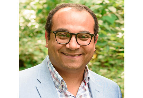 Safwat Marzouk, PhD, has served AMBS as Associate Professor of Old Testament/Hebrew Bible since July 2011. (Credit: Jason Bryant)