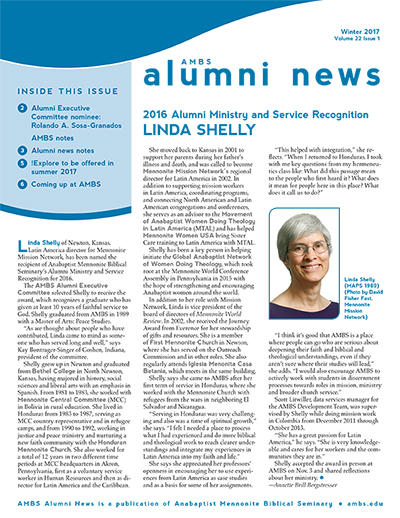 AMBS Alumni News Summer 2015 Issue
