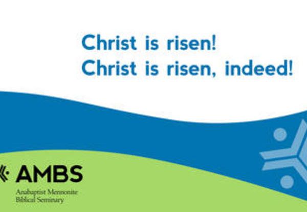 Celebrate with us: Christ is risen! Christ is risen indeed!