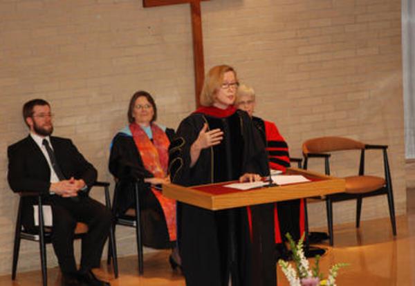 Speaker encourages graduates for a harvest of justice