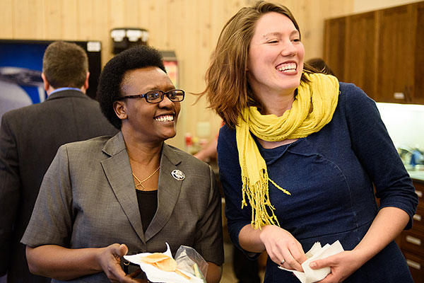 Esther Muhagachi (MDiv) and Rianna Isaak-Krauss (MACF)