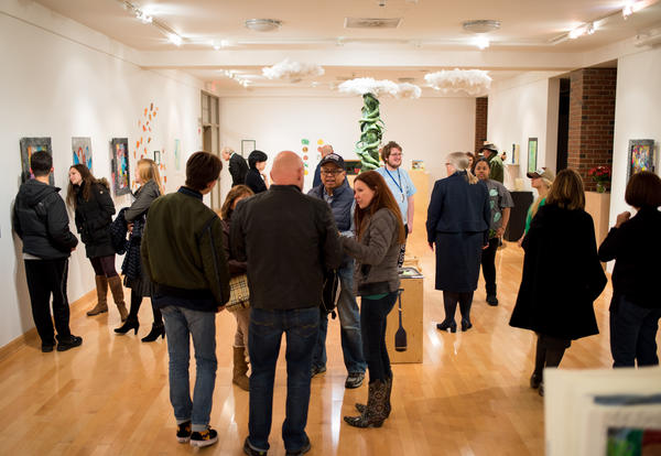 """Students Create a """"Magical"""" Exhibition at OSilas Gallery"""