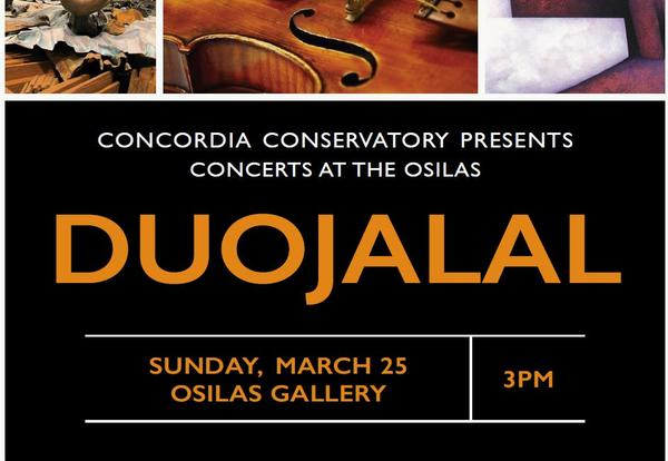 duoJalal and Serdar Arat at Concerts at the OSilas