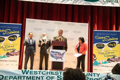 County Executive George Latimer Announces SeniorU Program