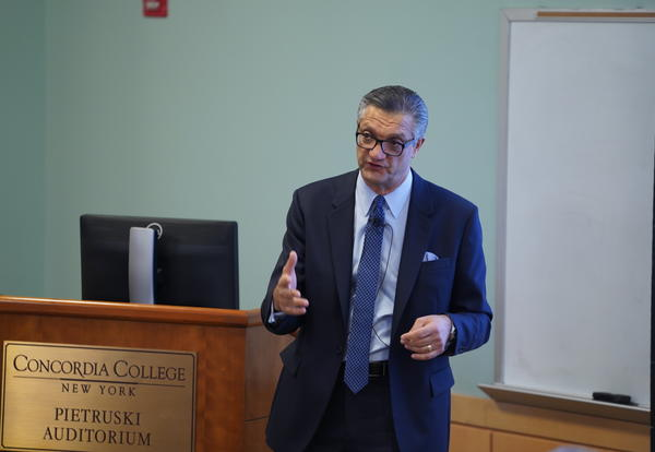 CEO of PVH Corp. Shares Thoughts on Corporate Responsibility with Concordia Students