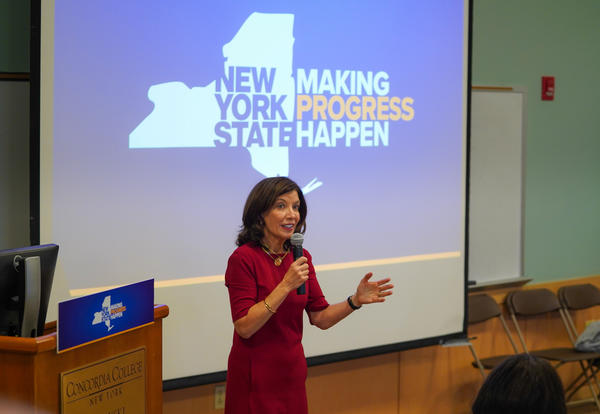 Lt. Gov. Kathy Hochul Delivers 2020 State of the State Address at Concordia College