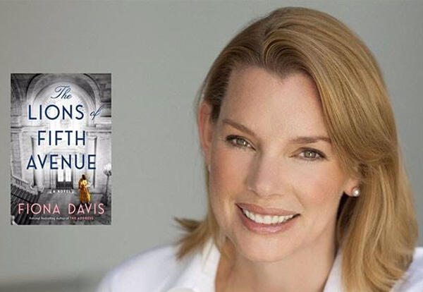 Best-selling Author Fiona Davis Returns to Books & Coffee