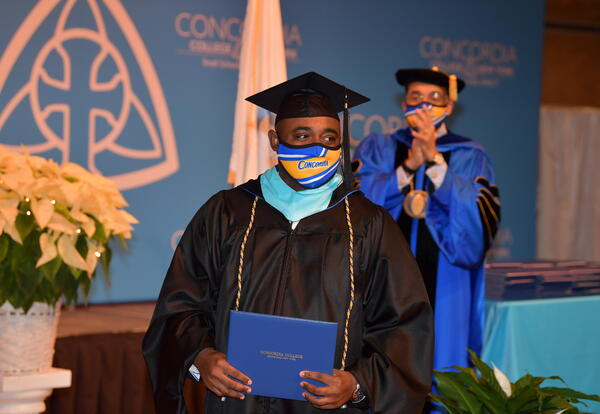 Concordia College Honors Graduates  Individually at Reimagined Commencement Event