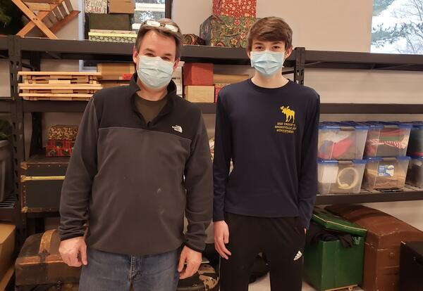 Local Student Renovates Concordia College's Prop Room for Eagle Scout Project