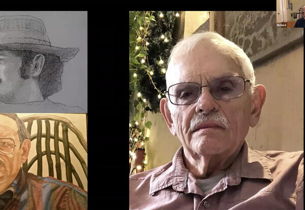 Acclaimed Artist Richard Haas Gives Virtual Lecture for Concordia's OSilas Gallery