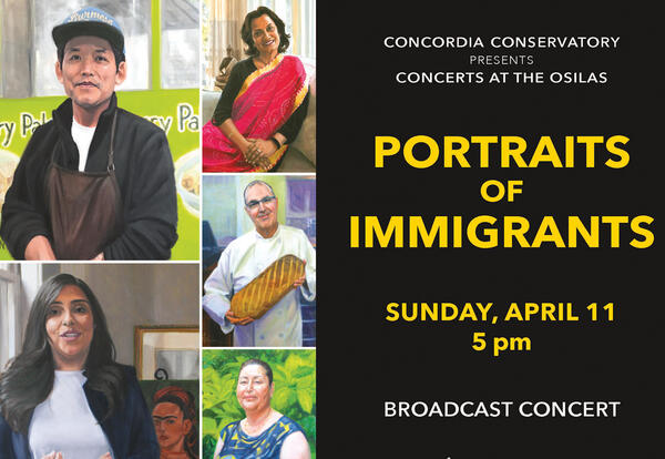 Concerts at the OSilas Series Concludes 2020-2021 Season with Portraits of Immigrants Broadcast