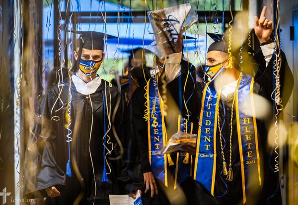 May 8 Parade of Graduates Marks Concordia College's Final Commencement Ceremony