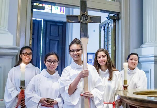 Notre Dame Celebrates the Sacrament of Confirmation