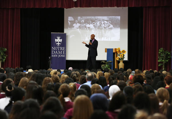 ND Reads Author Visit Features One of the Little Rock Nine