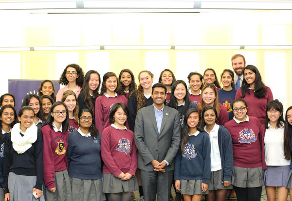 Congressman Ro Khanna Urges Students to Get Involved