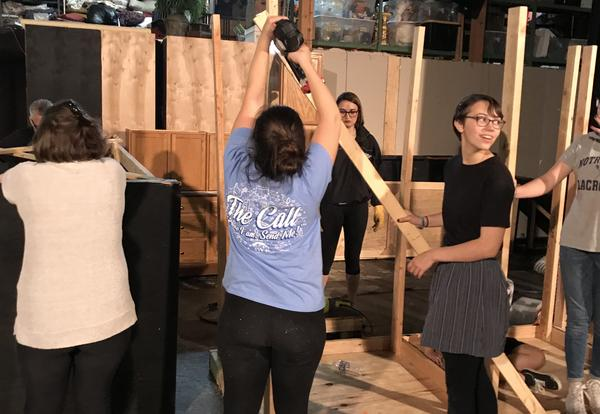 Behind the Scenes of Kind Lady, ND's Fall Play