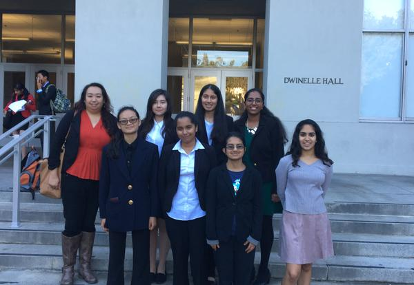Model United Nations Attend Berkeley Workshop