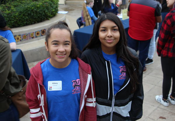Sophomores Step Up to Leadership as Eighth Grade Day Hosts