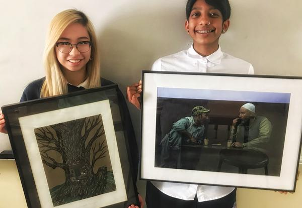 Student Artwork Chosen for Inclusion in NUMU Art Competition