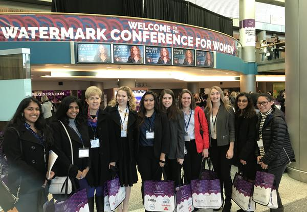 Students Inspired by Watermark Conference