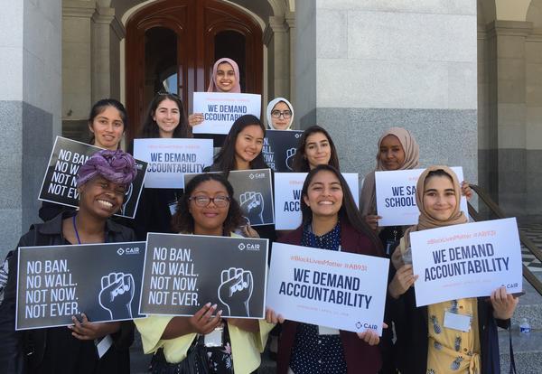 Students Lobby in Sacramento