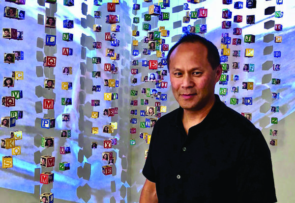 Students Study Arts Advocacy & Human Trafficking With Artist Jonathan Fung
