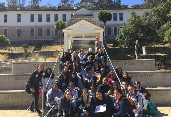 Juniors Explore Themes of Immigration, Inclusion & Exclusion at Angel Island