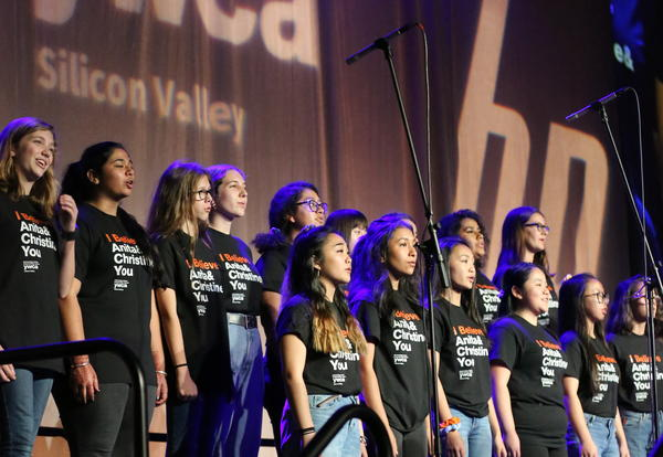 Notre Dame Choral & String Ensembles Perform at YWCA Inspire Luncheon