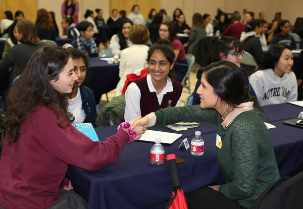 Juniors Learn About Career & Life Success Through Networking