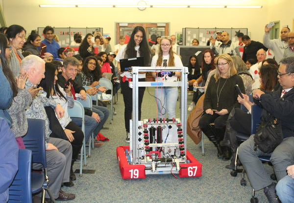 Notre Dame Janksters Reveal Their 2019 Robot