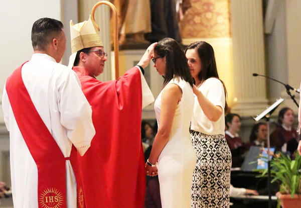 Notre Dame Celebrates Confirmation Liturgy