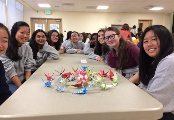 Experiential Learning Takes Freshmen to Japantown