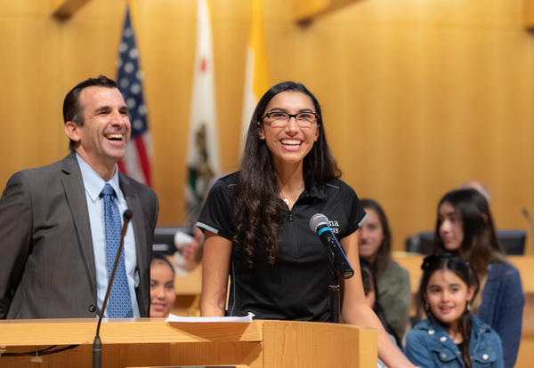 Notre Dame Senior Receives Commendation from the City of San Jose