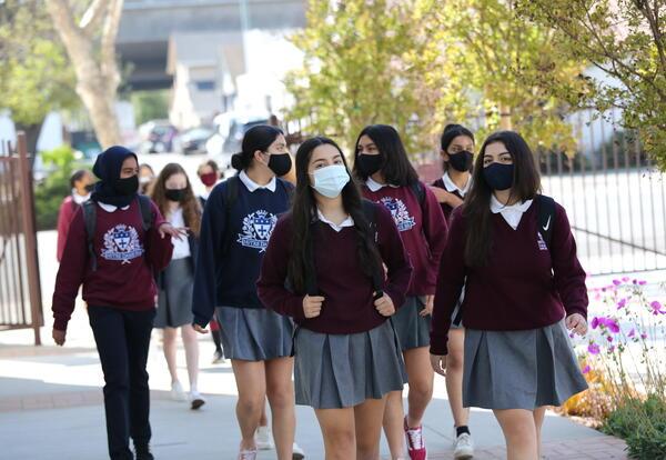 Students Return to Campus in Full Hybrid Program