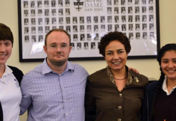 Spanish Teacher's Project Earns First Place Microsoft/KCI Innovation Award