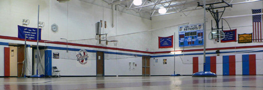 Photo of a gymnasium