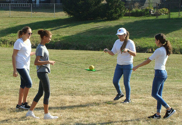 PV Students Participate in Team Building Activities
