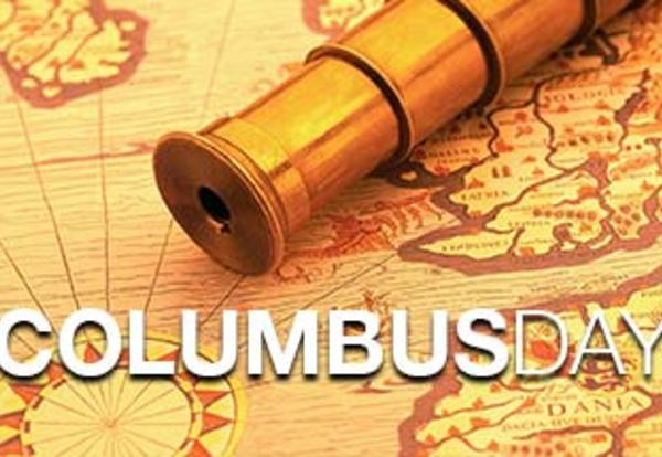 Columbus Day - No School Monday, October 9th