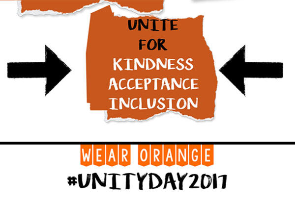 Celebrate Unity Day by Wearing Orange on October 25th!