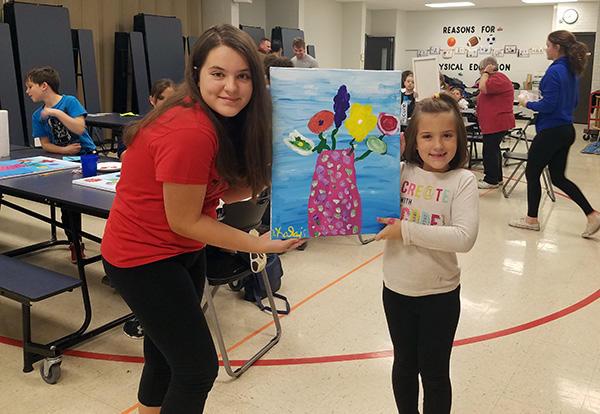 Fernway Families Express Creativity Through Art