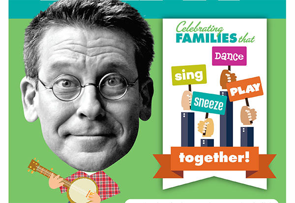 Musician and Author Jim Gill to Appear at Kindergarten Family Event on Feb. 26
