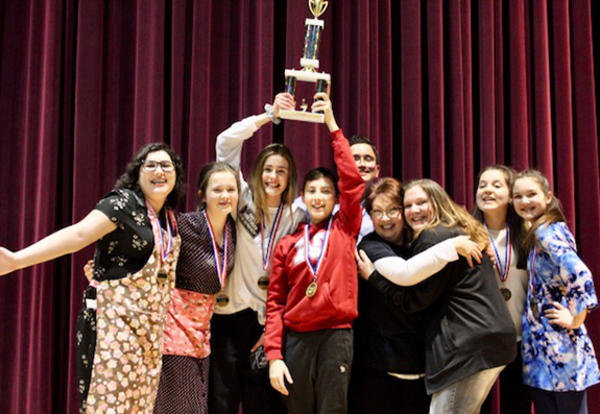 Prairie View Wins SWIC Declamation Competition