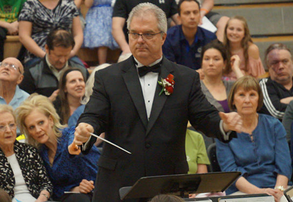 D140 Community Honors Retiring Band Director at Spring Concert
