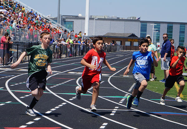 Elementary Students Hit Their Stride at District Track Meet