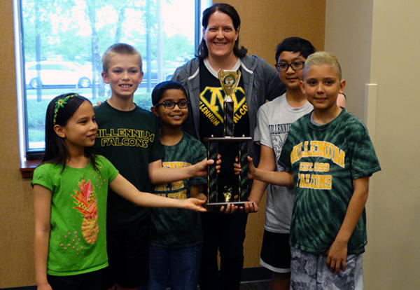 Millennium Elementary Wins District Battle of the Books Competition
